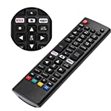 Loutoc Universalfernbedienung für LG LCD LED 3D HDTV Smart TVs für AKB75095307 AKB75095308 AKB74915324