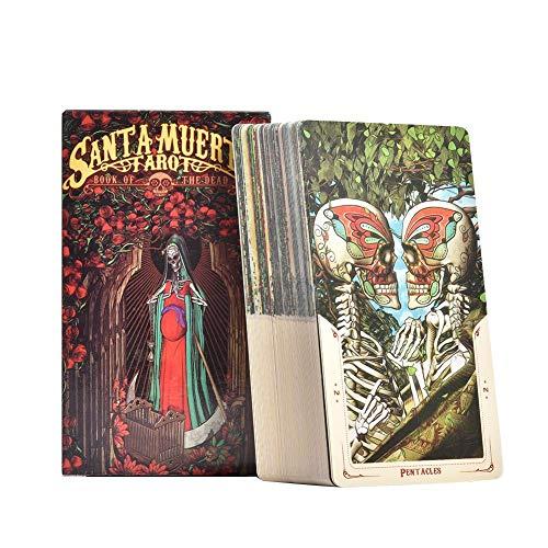 Leader 78 Blätter von Santa Muerte Tarot-Karten-Brettspiel-Karten-Partei Spiele für Freund Family Entertainment