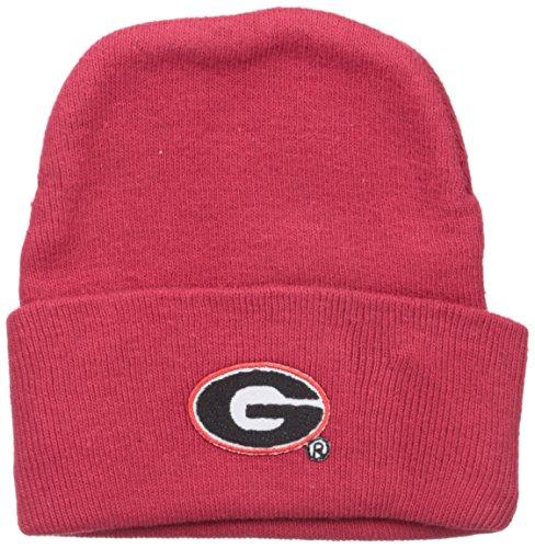georgia bulldog knit hat - 7