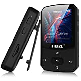Clip Mp3 Player with Bluetooth 5.0, Mini Portable Lossless Sound Music Player with FM Radio Voice Recorder Video Earphones for Running, Support up to 128GB(Black)