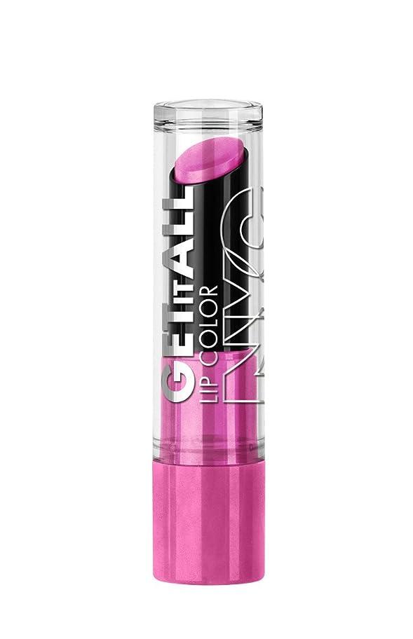 ターゲット行為寂しいNYC Get It All Lip Color FUCHSIAtastic (並行輸入品)