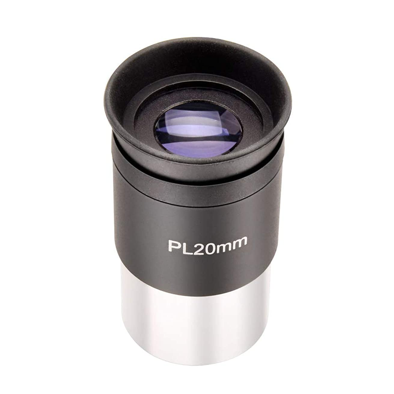 20mm PLossl Telescope Eyepiece 52 Degree FOV Fully Coated- Threaded for Standard 1.25