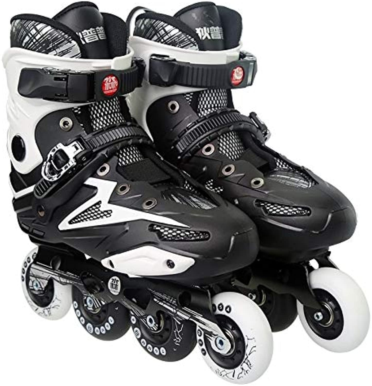 エクササイズグッズ Dile Bear F35大人用1列4輪ローラースケートスケート靴、サイズ:41