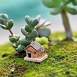 1,7 cm JIJI866 Fairy Garden DIY Stone Miniature Houses Craft Cottage Landscape Accessories Gardening Decorazione per Piante Hydroponics Giardino casa Ufficio scrivania Soggiorno,2 2