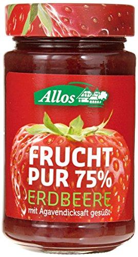 Allos 'Frucht Pur' Erdbeere, 6er Pack (6 x 250 g)
