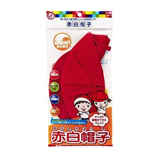 クツワ 赤白帽子