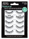 Ardell False Eyelashes Natural 110 Black, 1 pack (5 pairs per pack)