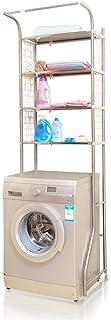 Home Equipment Armoire autoportante avec plancher blanc Organisateur de buanderie au 4e étage La salle de bain économise d...