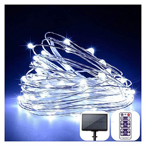 VGY Luces de Cadena LED Solar al Aire Libre 32 m / 22 m / 12M LED Guirnalda Solar de la Cadena de Hadas para el jardín de la Fiesta Lámpara de decoración de Navidad