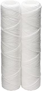Culligan CW-F Sediment Replacement Cartridge Polypropylene Cord-Wound, 10 Micron, 12,000 Gallon Capacity, 2-Pack