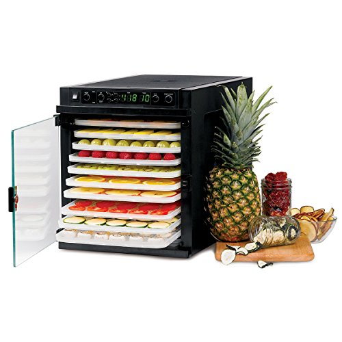 %11 OFF! Tribest Sedona Express SDE-P6280-B Digital Food Dehydrator, Black with BPA-Free Plastic Tra...