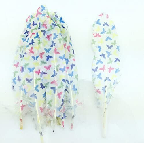 Finally resale start Colorful Goose Feathers for DIY Decora Party Now on sale Craft Home Wedding