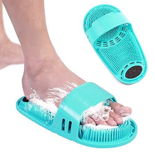 foot scrubber for shower floor