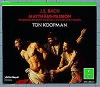 Bach - St. Matthew Passion / Schlick 路 Wessel 路 de Mey 路 Pr茅gardien 路 Kooy 路 Amsterdam Baroque Orchestra 路 Koopman