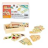 Juego de dominó para niños ColorBaby