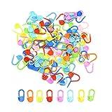 Juego de 600 Marcadores para Punto de Ganchillo,Biluer Multicolores Marcadores de Puntadas Marcadores Ganchillo Para Costura de Joyería Artesanal de Arte Uso en Casa y Oficina