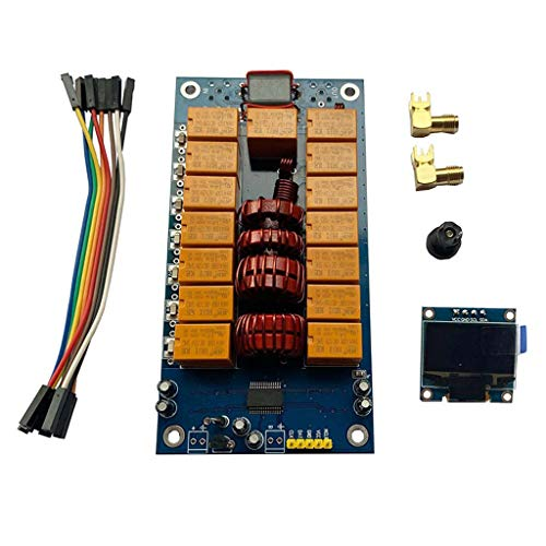 ATU-100 ATU-100 1,8-50 MHz ATU-100 Mini Antennen-Tuner von N7DDC 7x7 + OLED-Kit