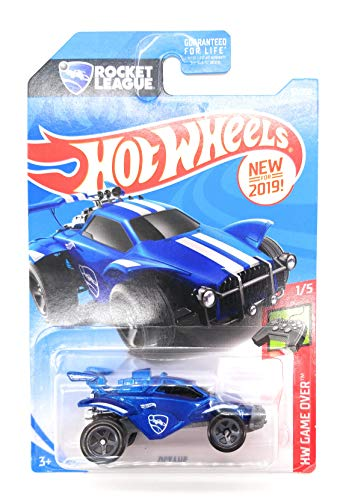 Hot Wheels 2019 HW Game Over Rocket League Octane 92/250, Blue