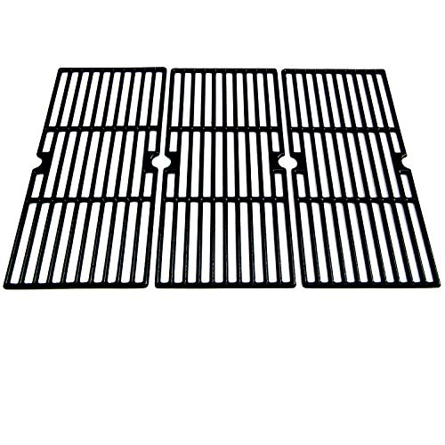 Direct Store Parts DC115 Polished Porcelain Coated Cast Iron Cooking Grid Replacement for Charbroil, Centro, Broil King, Costco Kirkland, K Mart, Master Chef Gas Grill