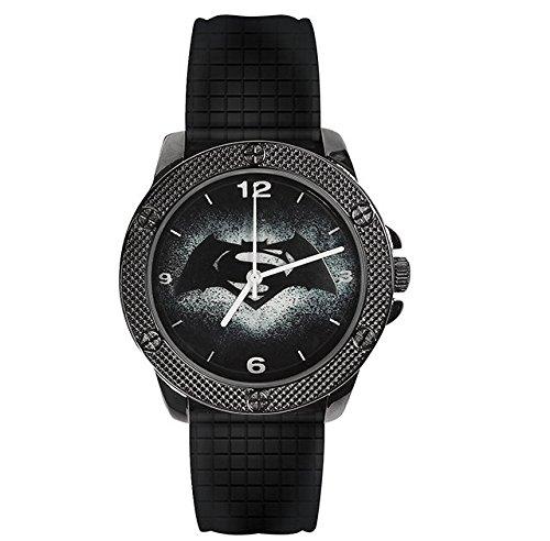 DCEaglemoss Unisex Analog Quarz Uhr mit Silikon Armband DCWUK001