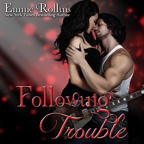 Following Trouble audiobook cover art