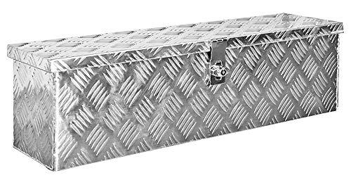 Truckbox Box Werkzeugkiste Anhängerbox Deichselbox 15 Größen Alumium Trucky, Boxentyp:D100 (99 x 33 x 32 cm) - 6