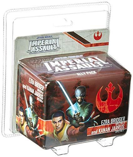 Fantasy Flight Games FFGSWI55 Ezra Bridger y Kanan Jarrus Aliado Pack: Star Wars Imperial Assault, Multicolor