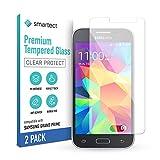 smartect Schutzglas kompatibel mit Samsung Galaxy Grand Prime [2 Stück] - Tempered Glass mit 9H Festigkeit - Blasenfreie Schutzfolie - Anti-Kratzer Bildschirmschutzfolie