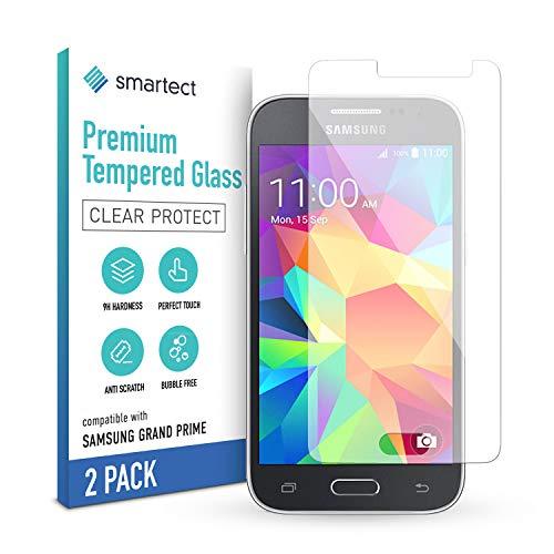 smartect Panzerglas kompatibel mit Samsung Galaxy Grand Prime [2 Stück] - Tempered Glass mit 9H Festigkeit - Blasenfreie Schutzfolie - Anti Fingerprint Panzerglasfolie