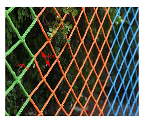 For Sale! PLLP Safety Nets,Color Safety Net Balcony Anti-Fall Net Children Stair Protection Net Kind...
