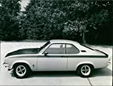 1973 Opel Manta GT/E - Vintage Press Foto