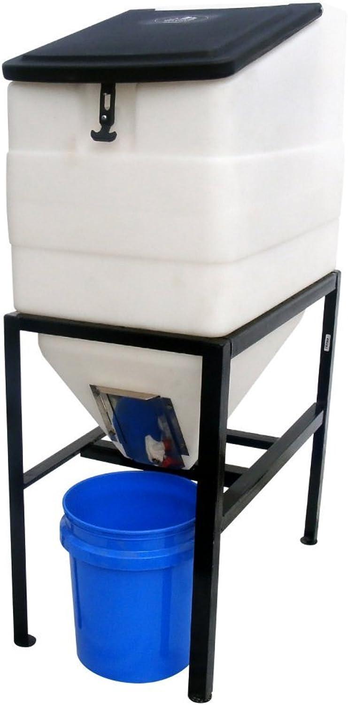 High Country Plastics BIN270 Feed Bin with Stand, 270 gallon