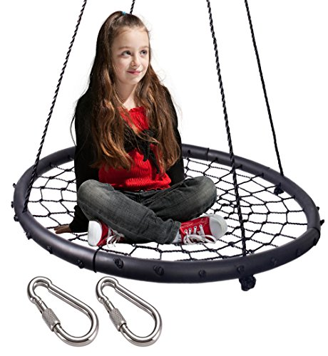 Our #7 Pick is the LaTazas Extra Large 40-inch Diameter Kids Web Net Swing