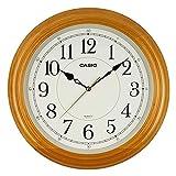 カシオ クオーツ式掛時計 IQ-121S-7JF フレーム:白木 1個