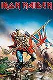 Iron Maiden Trooper Unisex Póster Multicolor, Sin Definir, 61 x 91,5 cm