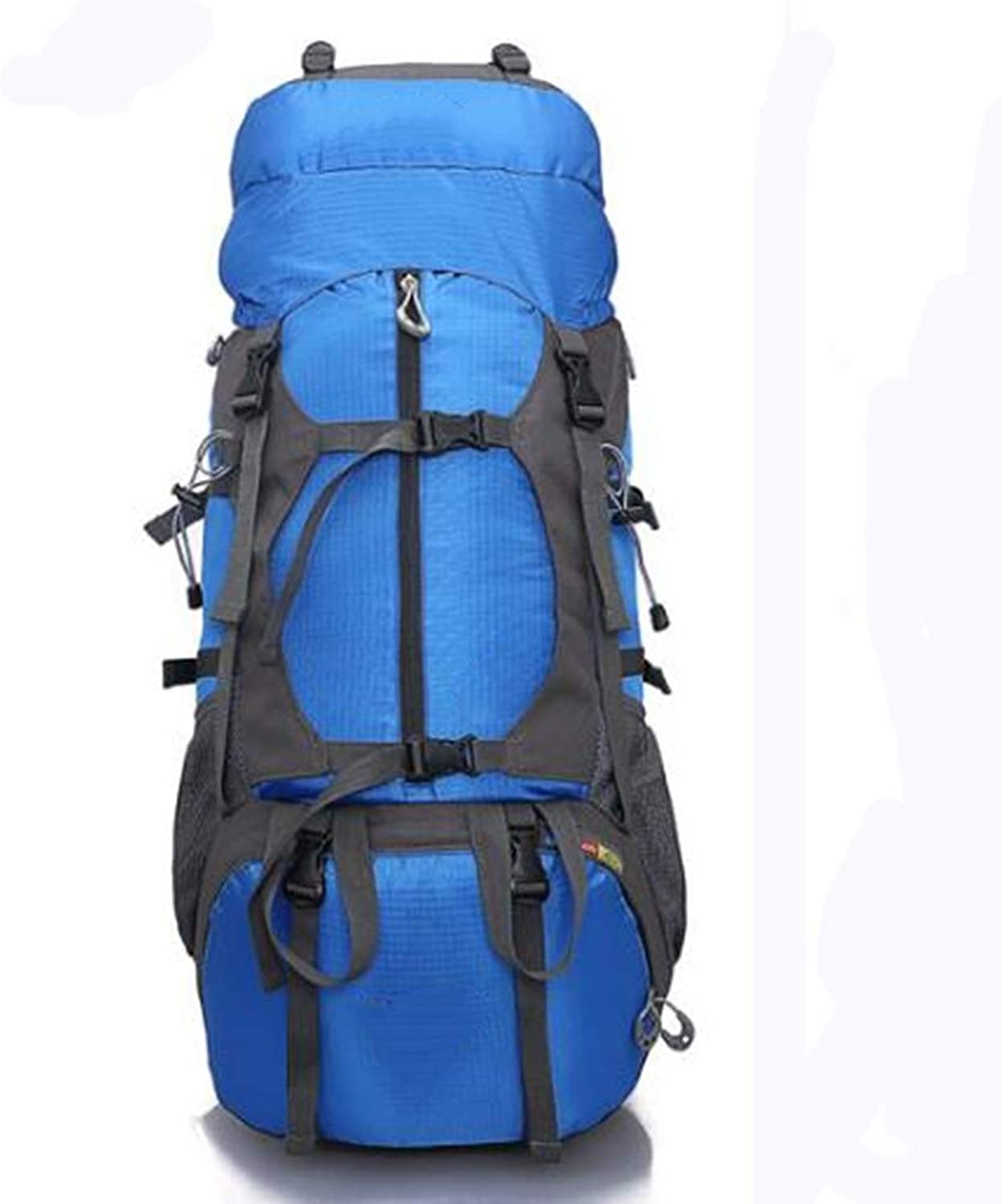 FDQS Outdoor Sport Camping Wanderrucksack Picnic Outdoor Mountaineering Bag Hiking Camping Supplies Large Capacity Rain-Proof Cover Shoulder Backpack