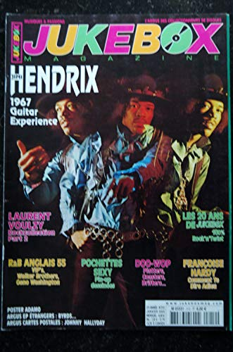 JUKEBOX 212 * 2005 * JIMI HENDRIX LAURENT VOULZY FRANCOISE HARDY