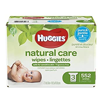 Huggies Natural Care, Baby Wipes