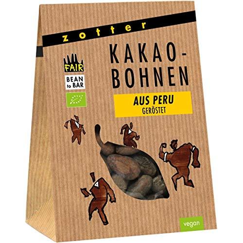 Zotter Kakaobohnen aus Peru, geröstet (100 g)