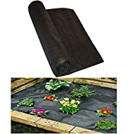 Roll measures 1m x 5m = 5 m² - Versatile fabric - perfect for under decking, pathways, drives, flower beds, landscaping etc UV stabilised fabric to reduce biodegradation from sunlight Breathable, water permeable fabric allows air, water and nutrients...
