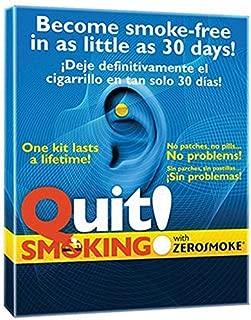 Yiwa 2 Pcs Stop Smoking Magnets Anti Smoke Patch Ear Auricular Therapy Magnet Quit Smoking