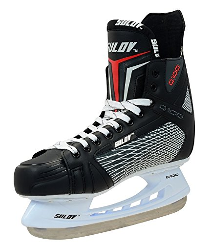 Read About SULOV Unisex-Youth Q100-13.1-44 Ice Hockey Skates, Size-44, Multi-Color, One Size