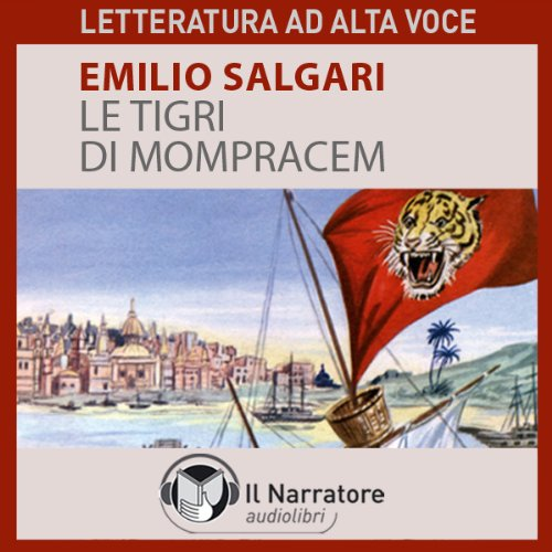 Le Tigri di Mompracem audiobook cover art