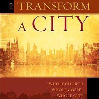 To Transform a City audiobook cover art
