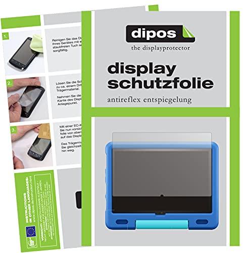 dipos I Protector de Pantalla Mate Compatible con Amazon Fire HD 10 Kids (2021) pelicula Protectora