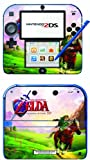 Zelda Ocarina of Time Game Skin for Nintendo 2DS Console