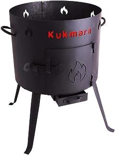 Utschak, H: 56 cm, Durchmesser: 32 cm, für 7L Kasan/Feldküche, Gulaschkessel Feuerkessel Kessel Outdoor