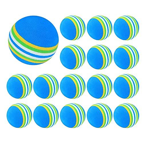 WEIJINGRIHUA Practica Pelotas de Golf Bola de Entrenamiento de Golf de Esponja de Espuma Suave de Espuma de Golf (Size : 20pcs)