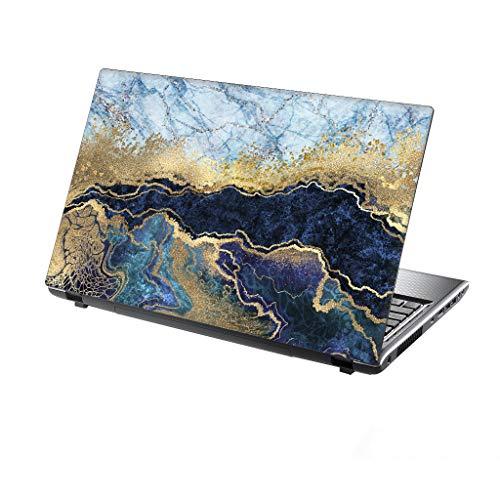 TaylorHe Schutzfolie für Laptops mit 39,6 cm (15,6 Zoll) / 38,1 cm (15 Zoll), Vinyl, mit bunten Mustern und Ledereffekt, hergestellt in Großbritannien