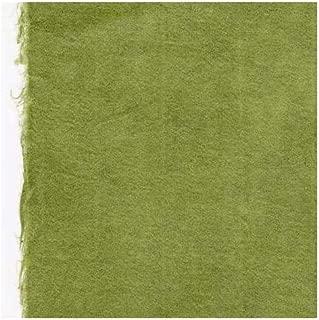 Hand Made Korean Hanji Paper- Moss Green 25x37